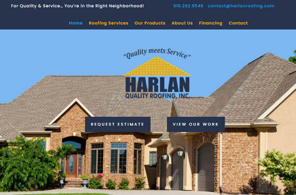Harlan Quality Roofing – Welcome to our New Website!